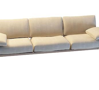 休闲三人沙发