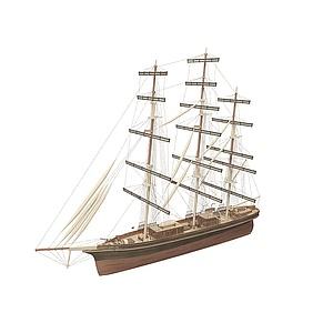 3d航海運輸<font class='myIsRed'>帆船</font>模型