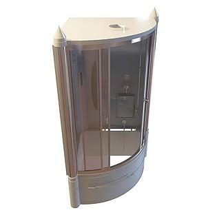 高档淋浴房3d模型