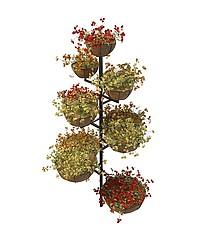 景观花架模型3d模型