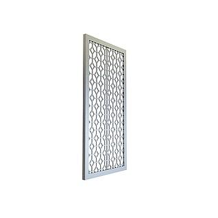 几何形镂花窗3d模型