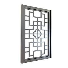 中式镂花窗模型3d模型