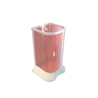 亚克力淋浴房3d模型
