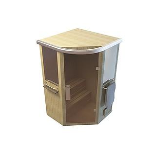 木制淋浴房3d模型