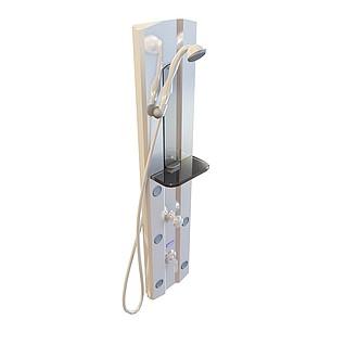 双开关淋浴器3d模型