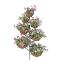 花盆组合模型3d模型