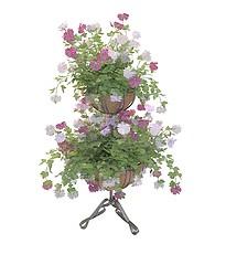 园林花架模型3d模型