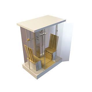 蒸汽房3d模型
