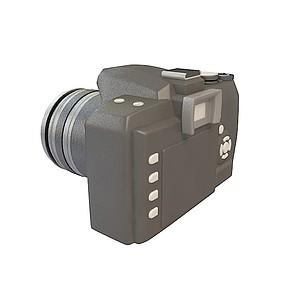 3d入门级单反相机模型
