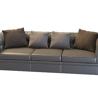 灰色<font class='myIsRed'>沙发</font>3d模型
