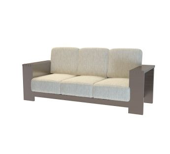 布艺三人沙发