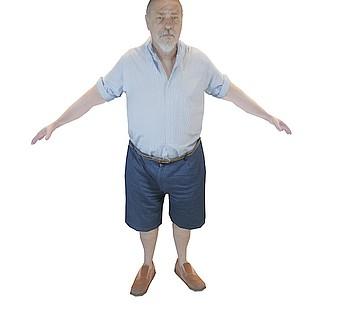 白胡子老人