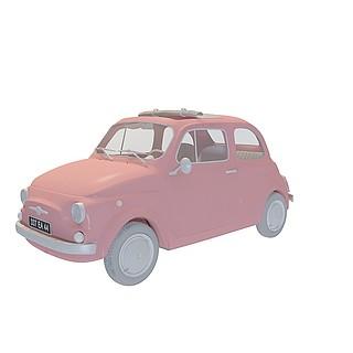 卡通<font class='myIsRed'>汽车</font>3d模型