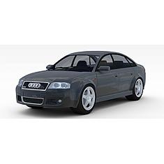 奥迪小轿车3D模型3d模型