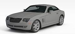 肌肉车模型3d模型