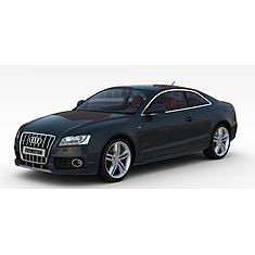 奥迪轿车3D模型3d模型