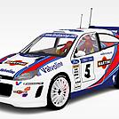 福特赛车模型