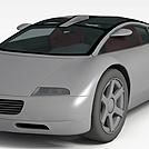 奥迪概念跑车模型
