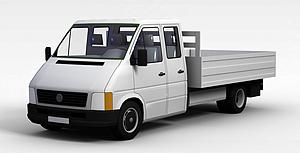 3d小<font class='myIsRed'>货车</font>模型