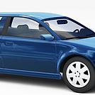 奥迪轿车模型