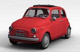 卡通汽车3d模型
