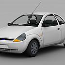紧凑型汽车模型