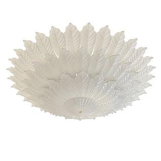 花瓣形吸顶灯3d模型