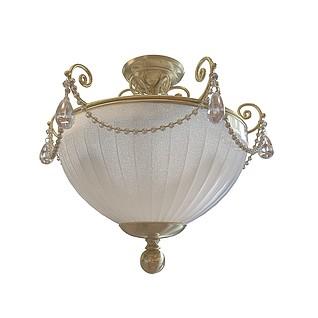 宫殿吸顶灯3d模型
