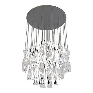 水晶吊坠吸顶灯3d模型