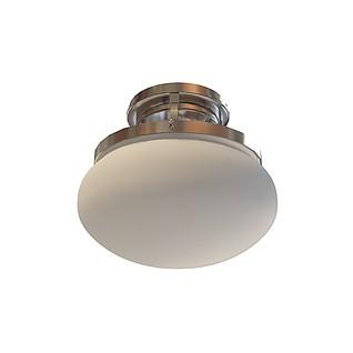 圆形吸顶灯3d模型