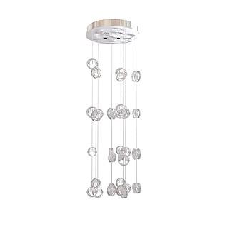 圆柱形吸顶灯3d模型