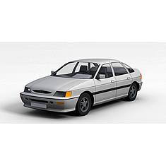 小轿车3D模型3d模型