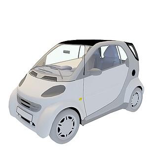 smart汽车3d模型
