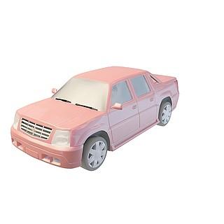 凯迪拉克皮卡3d模型