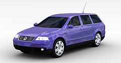 大众轿车3D模型3d模型
