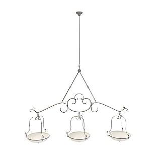 艺术造型吊灯3d模型