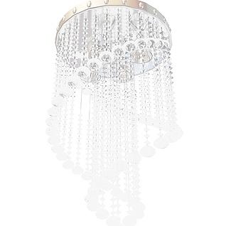 吸顶水晶吊灯3d模型