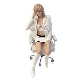 商务女人模型