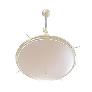 艺术餐厅吊灯3d模型