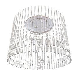 圆形水晶帘吊灯3d模型