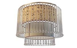 中式水晶吊灯3d模型