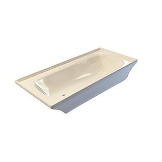 长方形浴缸3d模型