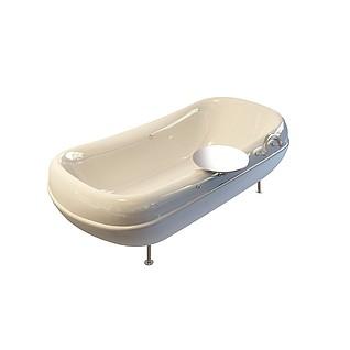 加厚型浴缸3d模型