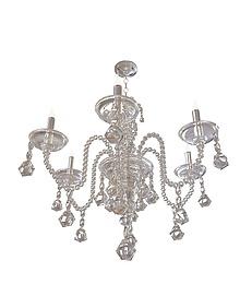 水晶蜡烛吊灯3d模型