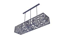 古典吊灯3d模型