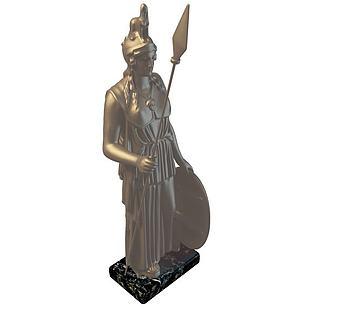 铜像人物摆件