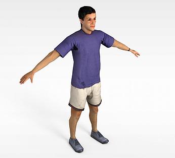 紫衣运动员