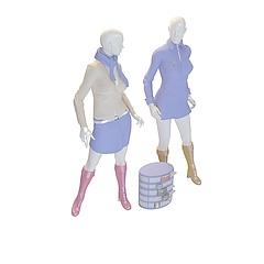 衣服模特模型3d模型