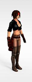 3d<font class='myIsRed'>游戏</font>女孩模型
