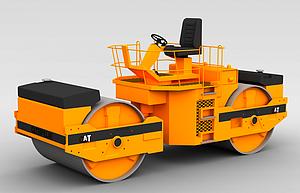 3d施工車模型